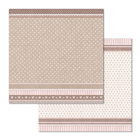 "vStamperia - Block 10 sheets 30.5x30.5 (12""x12"") Double Face Little Girl P"