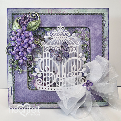 Heartfelt Creations - Sweet Lilac Scroll & Cage Die