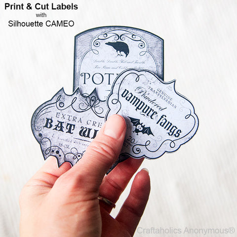 This is an image of Silhouette Printable Sticker Paper intended for planner stickers