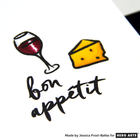 Hero Arts Bon Appetite Stamp and Die
