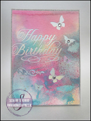 Crafters Companion - Gemini FoilPress Foil Stamp Die - Butterfly Dreams