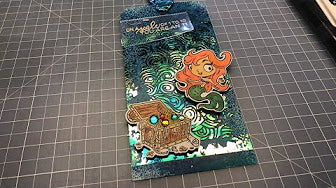Brutus Monroe Mermaid Lagoon - 4x8 Stamp Set - Tag