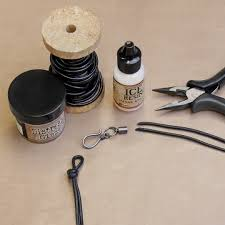 Ranger Ice Resin Leather Cords
