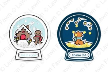 Lawn Fawn - Snow Globe Scenes Shaker Add-On