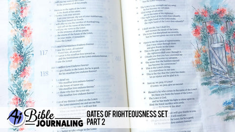 Art Impressions - Gates of Righteousness Stamp Set