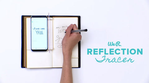 We Are Memory Keepers - Journal Studio - Reflector Trace