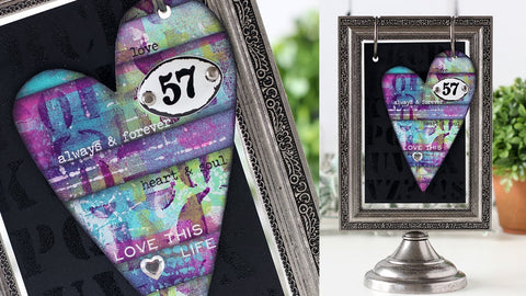 Tim Holtz Idea-ology Findings - Plaquettes