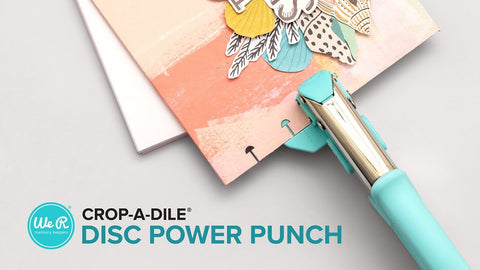 We R Memory Keepers - Crop-A-Dile Power Punch Tool