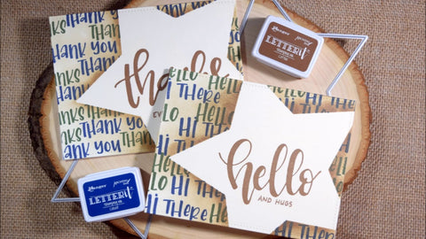 Ranger Letter It Cardstock