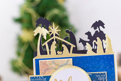 Crafter's Companion - Nature's Garden Nativity Dies - Three Kings