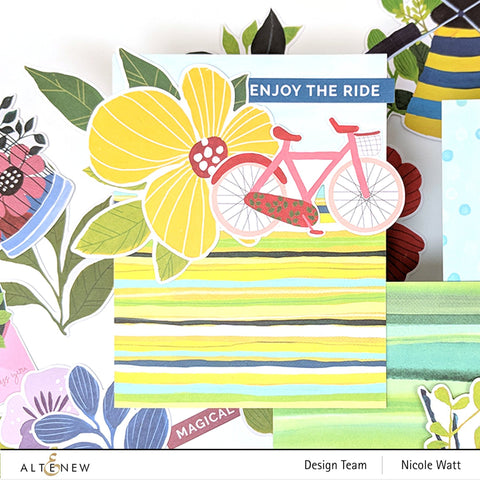 Altenew - Enjoy the Ride 12x12 Paper Pack