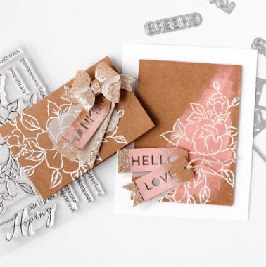 Mini Tags with Fillable Words