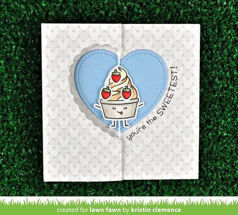 Lawn Fawn Stitched Heart Stackables