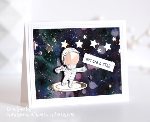 Memory Box - Twin Astro Suit Craft Die