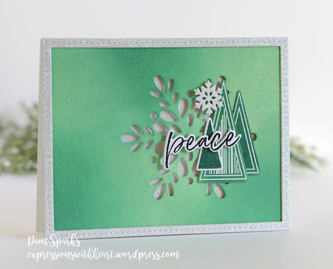 Memory Box - That's Acute Triangle Stamp and Die