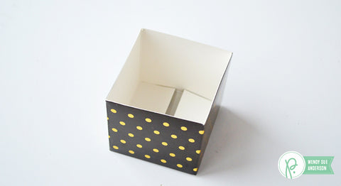 American Crafts - Pebbles - Everyday Gift Box