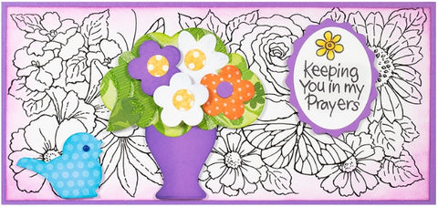 Stampendous - POP Bouquet Perfectly Clear Stamps Set