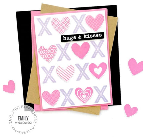 Taylored Expressions - Fill in the Blank - Love Cling & Clear Combo Stamps