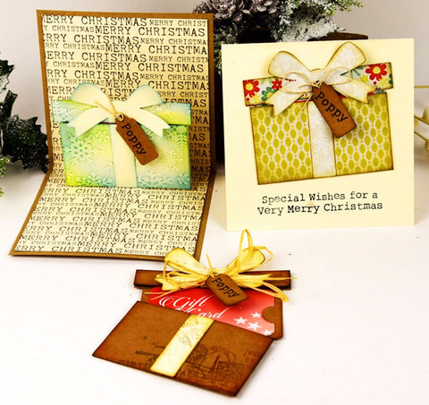 Sizzix Thinlits Dies By Tim Holtz - GIFT CARD PACKAGE