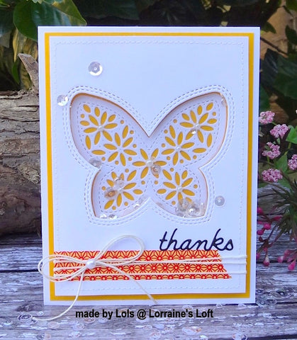 Simon Says Stamp - Wafer Die - Shimmer Butterfly