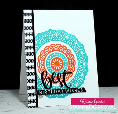 Catherine Pooler Medallion MixUp Stamps