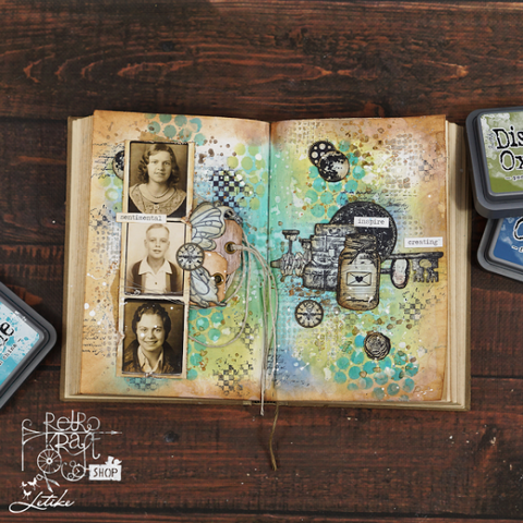 Tim Holtz - Cling Mount Stamps: Ultimate Grunge