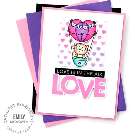 Taylored Expressions - On the Block - Love Stamp