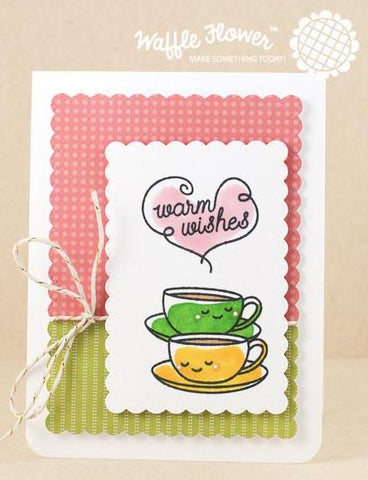 Waffle Flower - Warm Wishes Stamp Set
