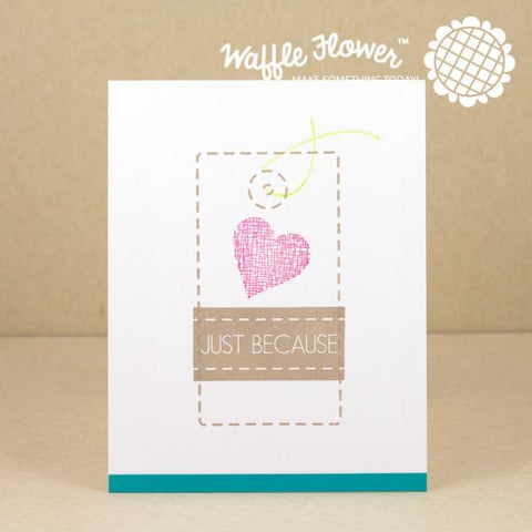 Waffle Flower Clear Stamps - Surface Tag Stamp Set