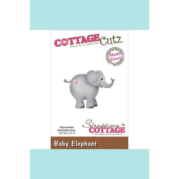 CottageCutz Die - Elephant