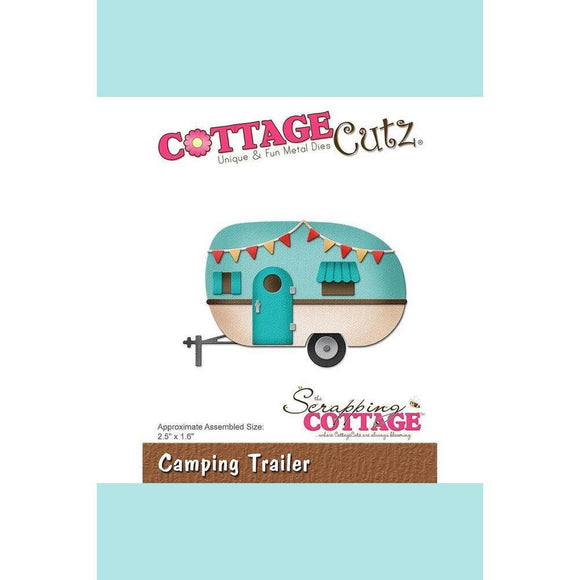 CottageCutz Die - Camping Trailer
