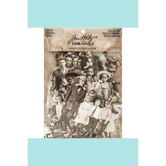 Tim Holtz Idea-ology Paper Dolls