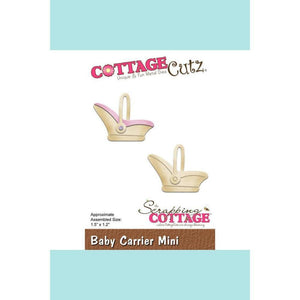 CottageCutz Die - Baby Carrier