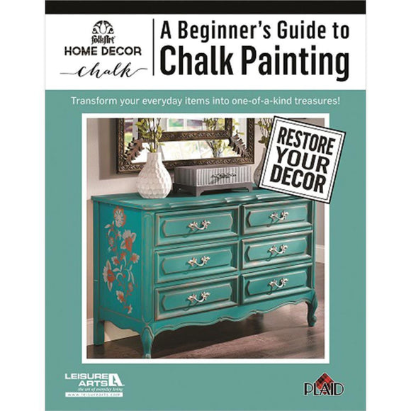 Leisure Arts - A Beginner's Guide To Chalk Painting