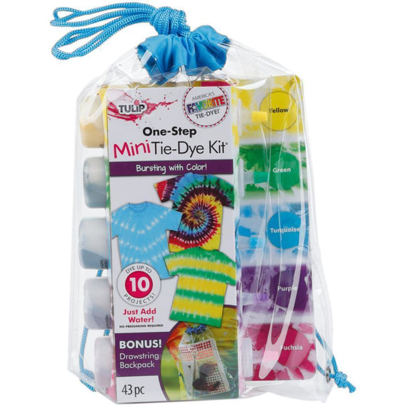 Tulip One-Step Tie-Dye Kit - Mega Drawstring Bag