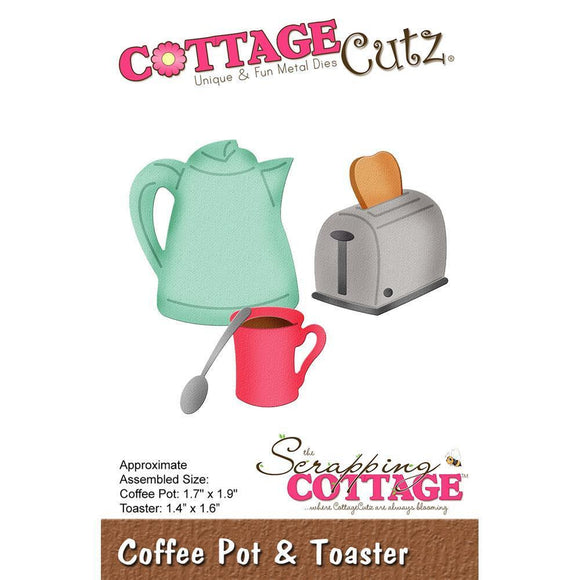 CottageCutz - Coffee Pot & Toaster Dies