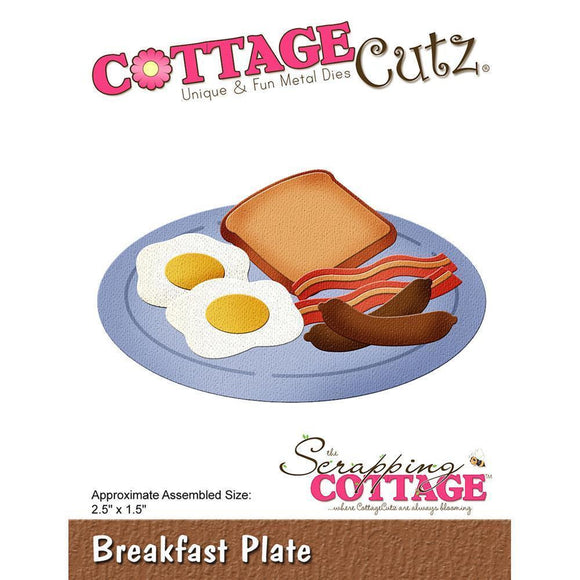 CottageCutz - Breakfast Plate Dies