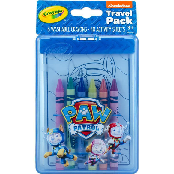 Crayola Paw Patrol Travel Pack