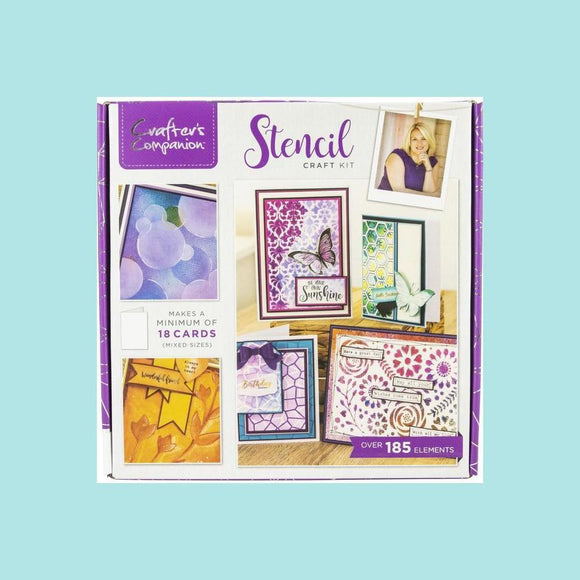 Crafter's Companion Craft Box Kit - Stencil #14