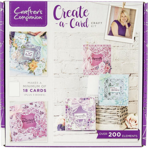 Crafter's Companion Craft Box Kit - Create a Card