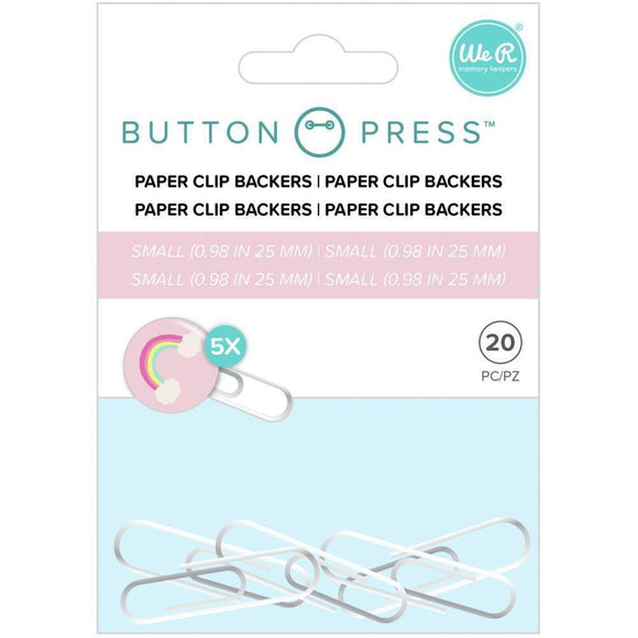 We R Memory Keepers - Button Press Paper Clip Backers