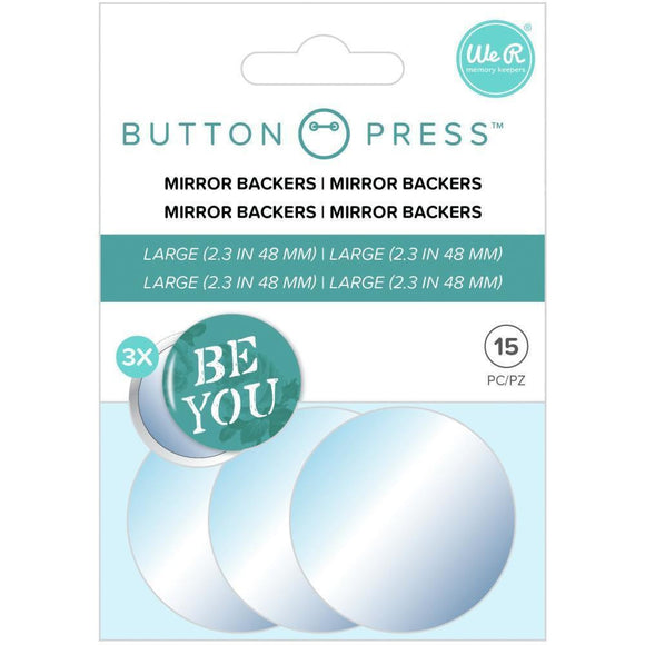 We R Memory Keepers - Button Press Adhesive Mirrors