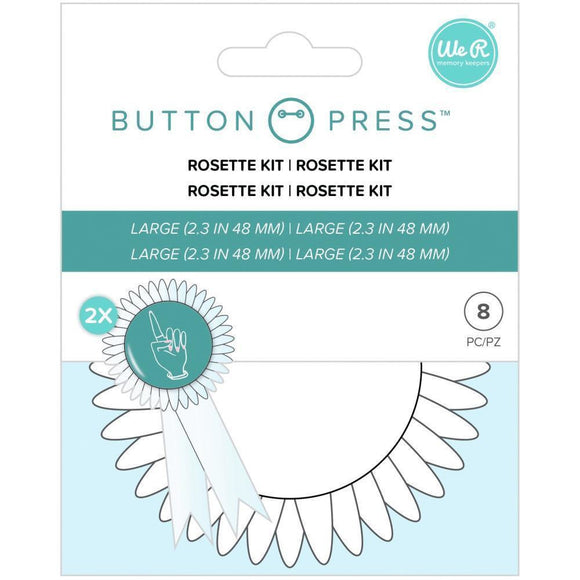 We R Memory Keepers - Button Press Rosette Kit