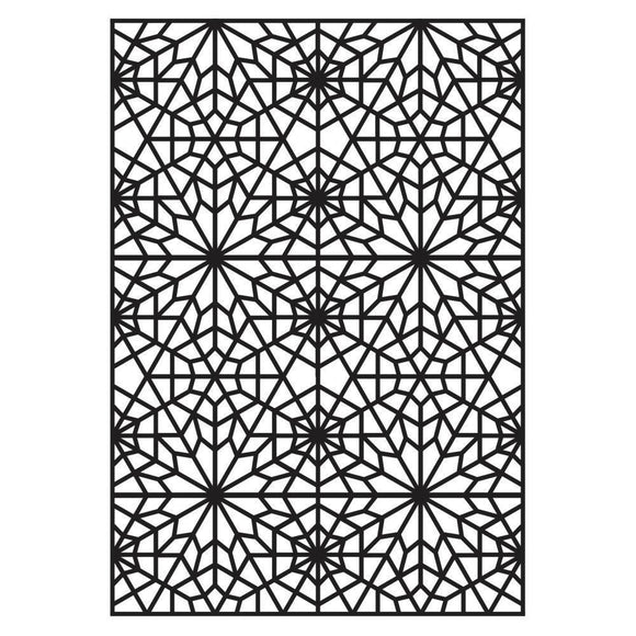 Darice® - Background Embossing Folder - Web Pattern
