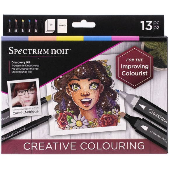 Spectrum Noir - Discovery Kit - Creative Colouring