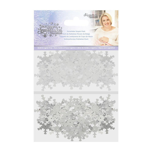 Crafter's Companion - Sara Signature - Glittering Snowflakes Sequin Pack