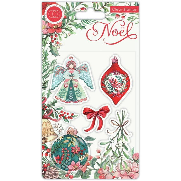 Craft Consortium - Noel - Stamp Set - Decorations