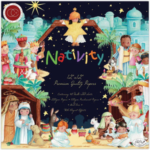 "Craft Consortium Double-Sided Paper Pad 12""X12"" 40/Pkg - Nativity"