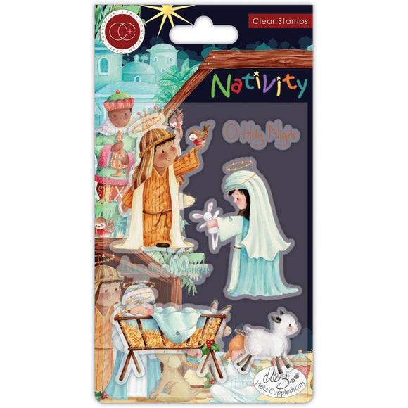 Craft Consortium A5 Clear Stamps - Nativity