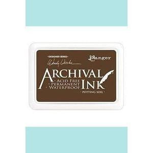 Ranger - Archival Ink Pads & Re-Inkers POTTING SOIL